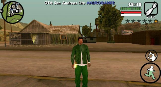 GTA San Andreas Lite v5 (Apk+Data) Android GPU Mali