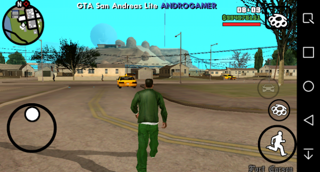 GTA San Andreas Lite v5 (Apk+Data) Android GPU Mali