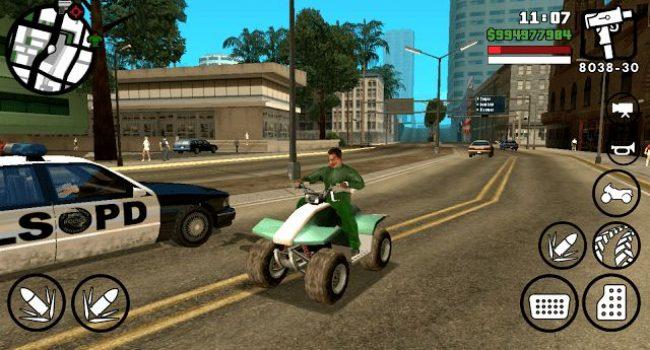 GTA San Andreas Lite v7 (Apk+Obb) Dengan Cara Install