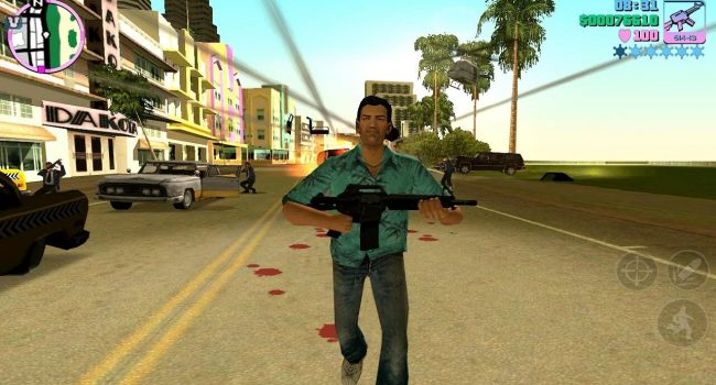 Grand Theft Auto (GTA) Vice City v1.07 Apk+Data Full Version