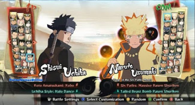 Naruto Senki AP7 v2 Fixed FC Terbaru by Ashar