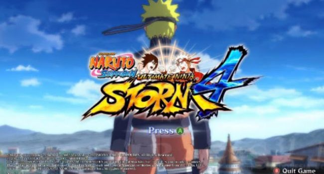 Naruto Shippuden Ultimate Ninja Storm 4 v2 Android