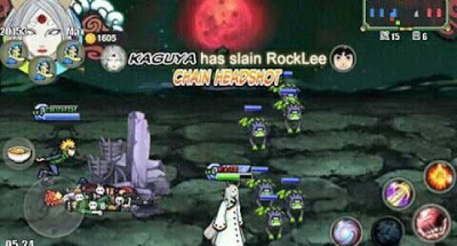 Naruto Senki MOD Naruto Ninja Storm 4 + MAP (by Sansan'ar)
