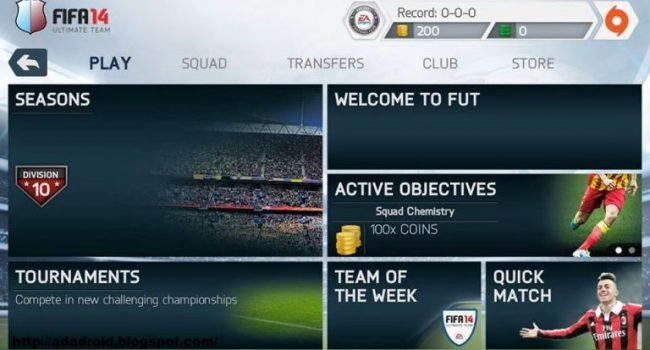 FIFA 14 APK+Data Mod v1.3.6 Unlocked (Update Transfer 2017)