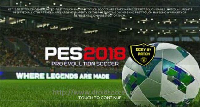 FTS Mod PES 2018 (Apk+Data/Obb) by Ocky Terbaru