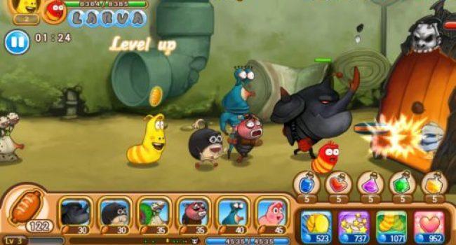 Larva Heroes 001