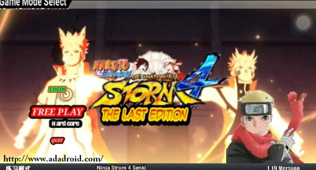 Naruto Senki Storm 4 MOD Final The Last v2 (Hardcore Mode)