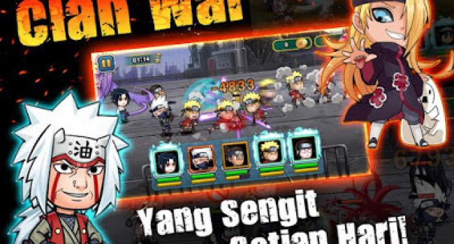 Shinobi Rebirth: Ninja War MOD (Apk+Data) v1.0.11 Terbaru