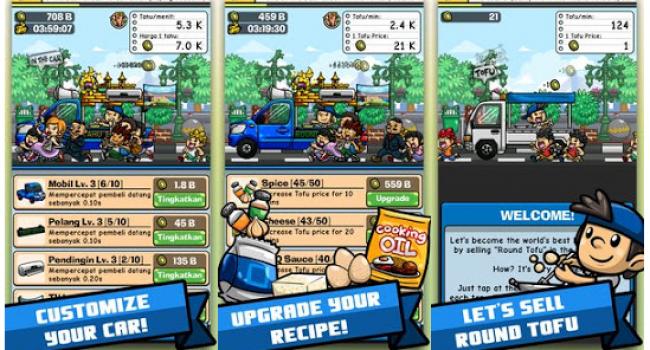 Tahu Bulat MOD Unlimited Money v8.0.5 Terbaru