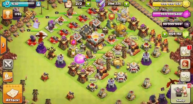 Clash Of Magic - COC Privat Server MOD APK v9.105
