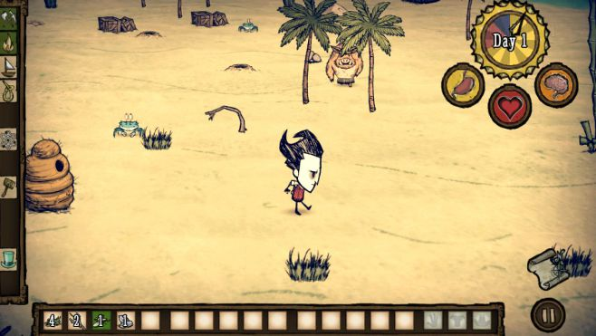 Dont Starve: Shipwrecked APK Data Mod v0.10 (Full Unlocked)
