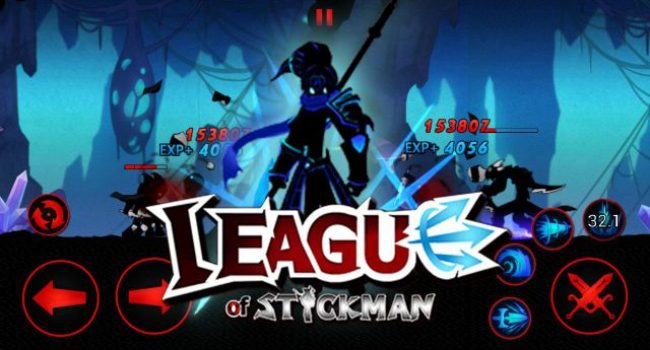 League of Stickman 2017 APK v4.2.2 MOD (Free Shopping)