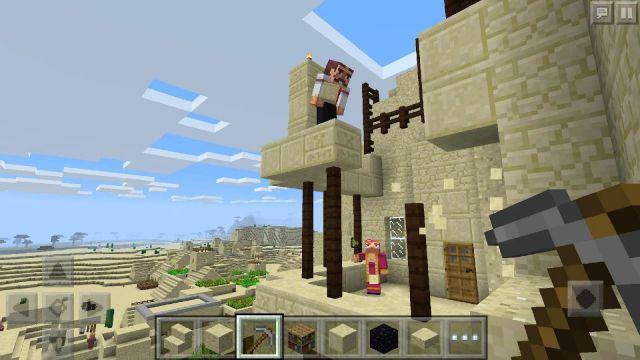Minecraft: Pocket Edition APK Mod v1.2.5.12 (No Damage & More)