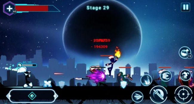 Stickman Ghost 2: Galaxy Wars APK v4.1.3 MOD (Gems/Coins)
