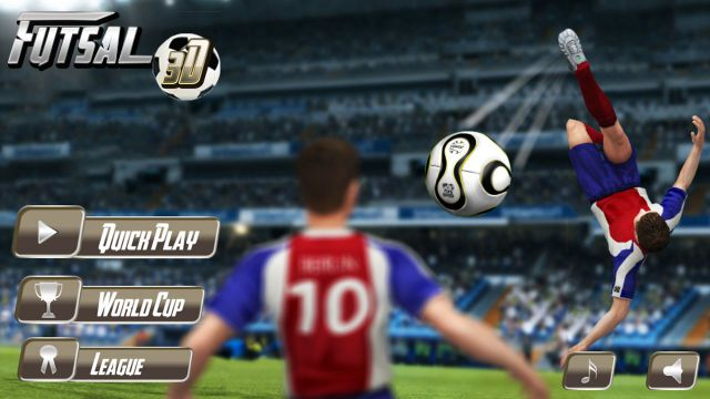 Futsal Football 2 APK v1.3.1 (Super 3D GamePlay) Full Version