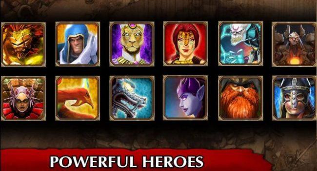 Legendary Heroes APK Mod (Infinite Coins/Crystals) v2.3.71