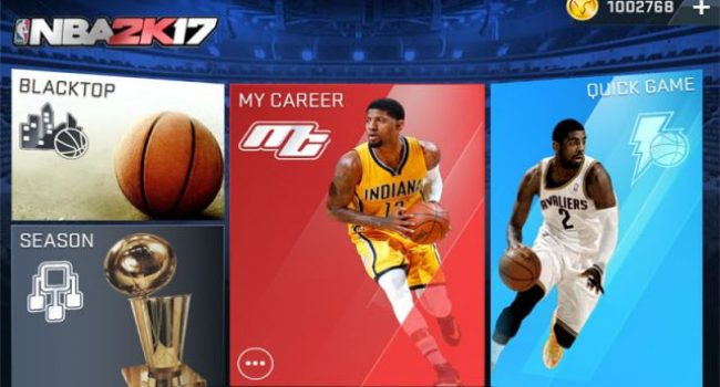 NBA 2K17 MOD APK Data (Unlimited Money) v0.0.27 Terbaru