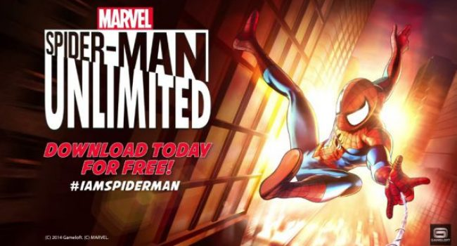 SpiderMan Unlimited MOD Apk+Data (Max Energy & Level) v2.8.0d