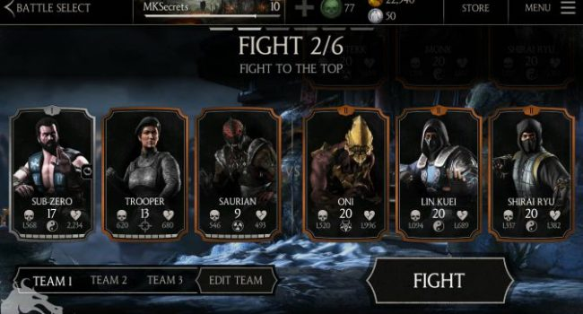 Mortal Kombat X APK Data Mod v1.15.0 (Mega Mod Money)