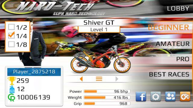 Game Drag Bike 201M APK v2.0 Full Version Terbaru