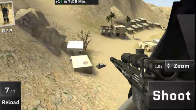 Sniper Ops 3D APK Data Mod v57.0.2 (Infinite Coins & More)