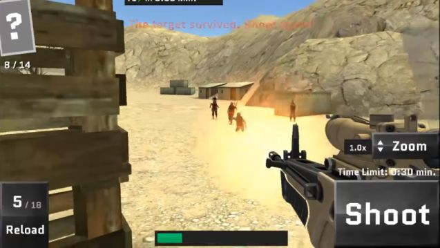 Sniper Ops 3D APK Data Mod v57.0.2 (Infinite Coins & More)