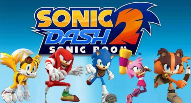 Sonic Dash 2: Sonic Boom APK Mod v1.7.7 (Tickets + Money)