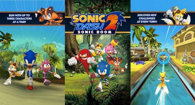 Sonic Dash 2: Sonic Boom APK Mod v1.7.7 (Tickets + Money)