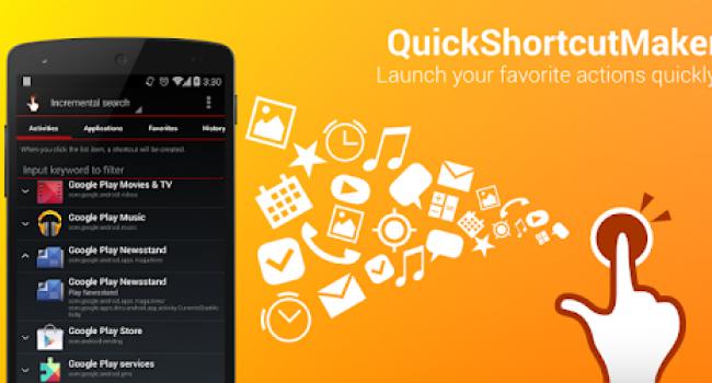 Download QuickShortcutMaker (Pintas) Apk Full Terbaru Android