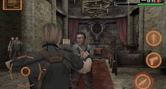 Download Game Resident Evil 4 Mobile Apk + Data Terbaru Android