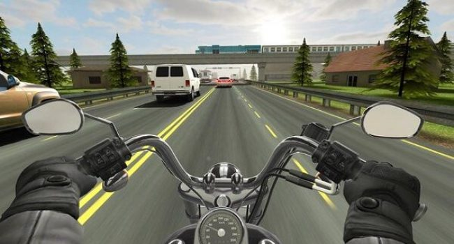 Download Traffic Rider Apk Mod Unlimited Money Terbaru Android