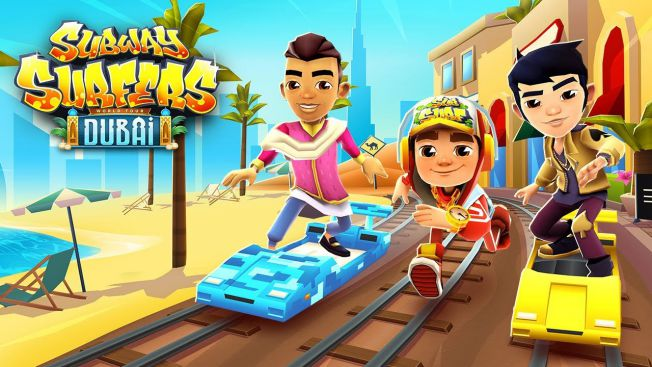 Download Subway Surfers Dubai Apk Mod Terbaru Android